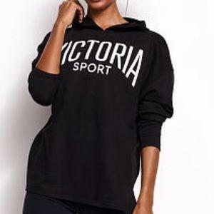 VICTORIA SECRET Sport black pullover sweater